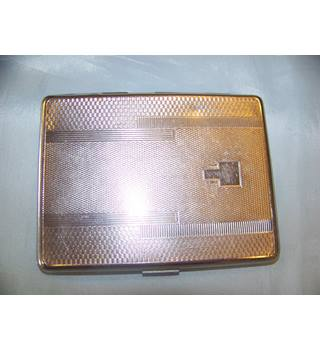 Emu Brand 1950s Sylva Chrome cigarette case