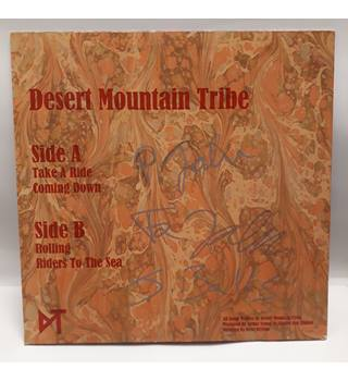 SIGNED Desert Mountain Tribe EP - EXCELLENT - SMD 69