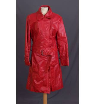 Ann Harvey - Size: 24 - Red - Casual jacket / coat