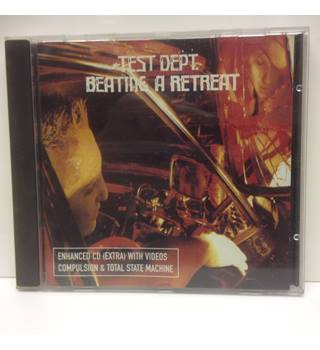 BEATING A RETREAT ENHANCED CD (EXTRA) WITH VIDEOS COMPULSION & TOTAL STATE MAC- Test Dept