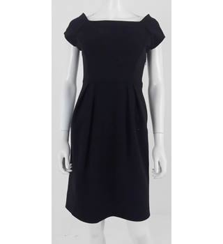 Diane Von Furstenberg Size 10 Black Dress