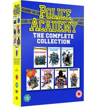 POLICE ACADEMY THE COMPLETE COLLECTION 15