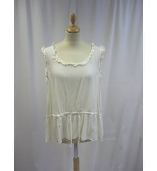 French Connection - Size: 14 - White - Sleeveless top