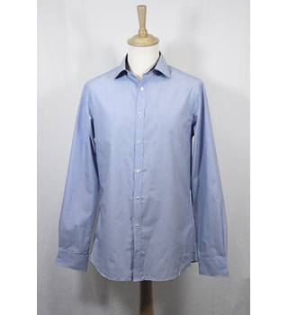 NWOT M&S Marks & Spencer Blue Long Sleeved Shirt