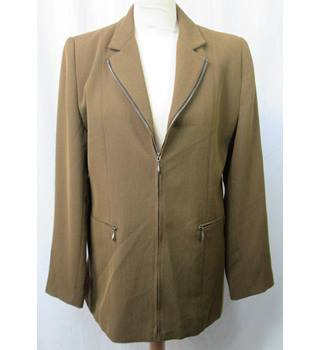 Gianfranco Corneli - Size: 14 - Brown Zip Up - Casual jacket