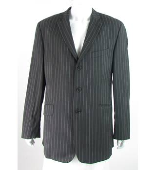 Ben Sherman - Size: 44L - Chocolate Brown - 100% Wool - Single breasted suit jacket