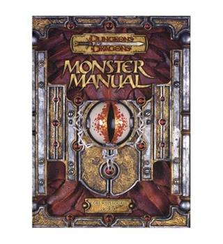 Monster Manual (Dungeons & Dragons Core Rulebook III v3.5)