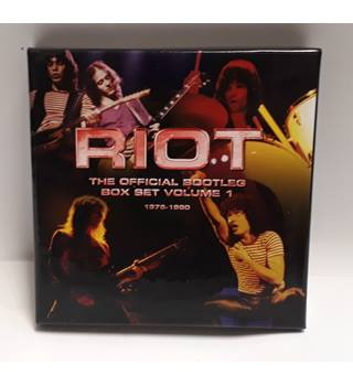 The Official Bootlegs Box Set Volume 1 1976-1980 -- Riot
