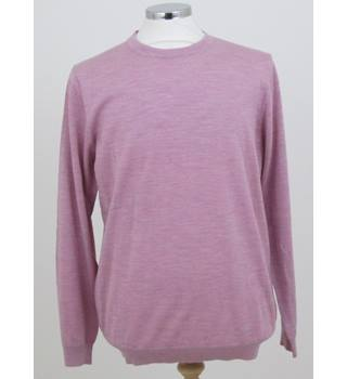 NWOT M&S Collection size: L pink crew neck jumper