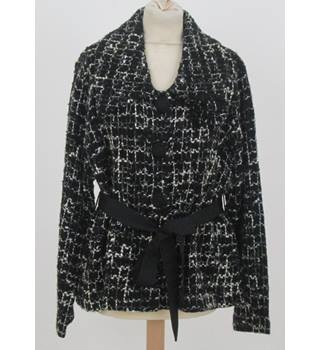 Country Casuals - Size: XL - Black - Wrap around cardigan/jacket