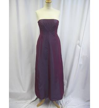 Monsoon - Size: 10 - Purple - Full length dress