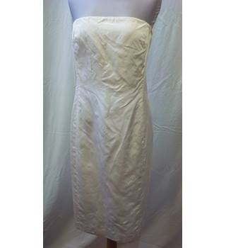 Ralph Lauren - Size: 6 - Cream / ivory - Strapless wedding dress
