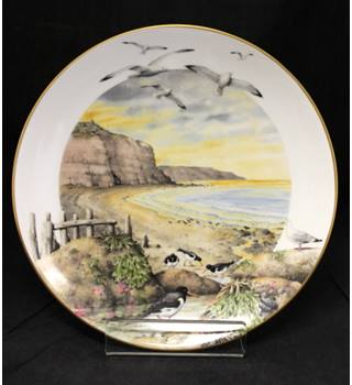 Royal Worcester / Franklin Porcelain - February on the Coast - Plate