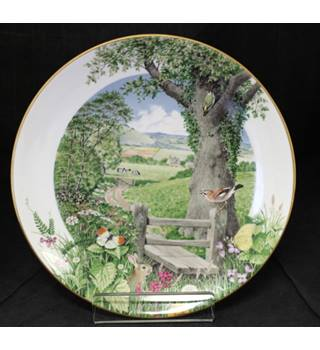 Royal Worcester / Franklin Porcelain - A Country Path in May - Plate