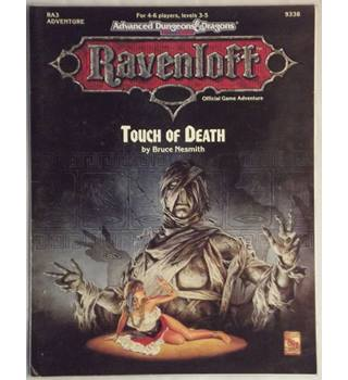 Ra3: Touch of Death (Advanced Dungeons and Dragons, 2nd Edition : Ravenloft, Ra3)