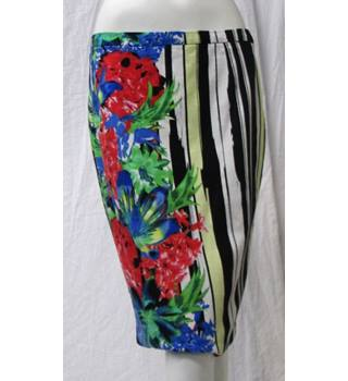 NEXT Colourful Skirt Size M Next - Size: M - Multi-coloured
