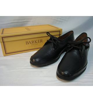 Barker size 6AA Black Ruth Pittards Sheep Lace-up Shoes