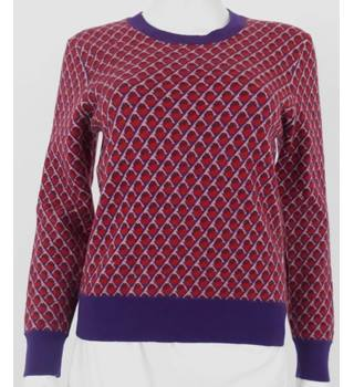 Marc by Marc Jacobs 100% Wool Size M Multi-coloured Jumper