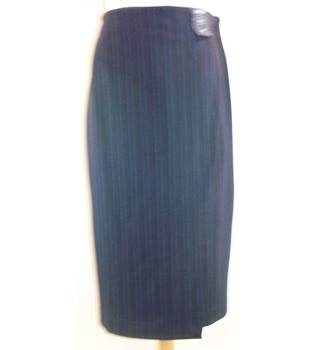 M&S Marks & Spencer - Size: 18 - Multi-coloured - Calf length skirt