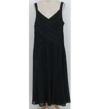 Per Una Size:20 black short evening dress