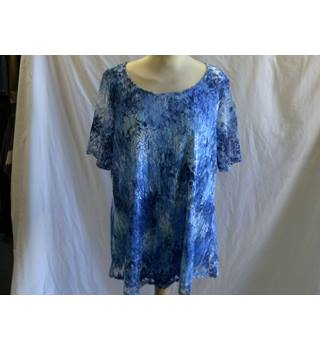 Julipa ladies blouse- Blue - Blouse