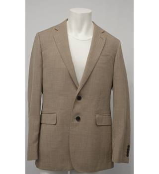 Jaeger - Size: M - Beige - Single breasted suit jacket