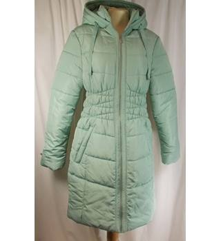 M&S Collection Size 10 Mint Green Coat