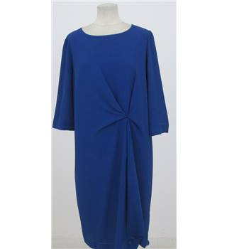 BNWT John Lewis Size:14 royal-blue afternoon dress