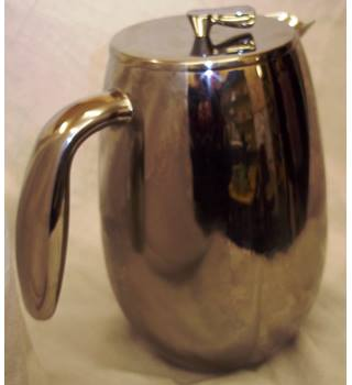 Stainless steel Bodum cafetiere