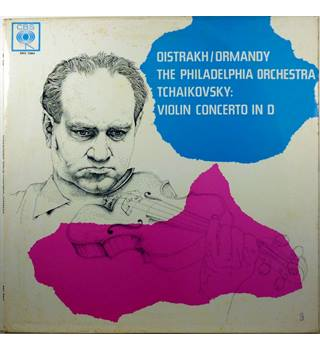 Tchaikovsky - Violin Concerto in D Major - The Philadelphia Orchestra conducted by Eugene Ormandy, David Oistrakh - BRG 72064