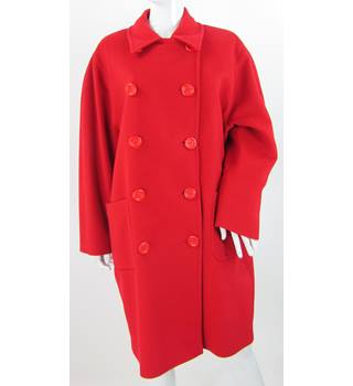 Jaeger - Size: 12 - Red - Coat
