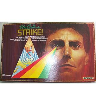 URI GELLER'S STRIKE RARE VINTAGE 1980'S BOARD GAME BY MATCHBOX ~