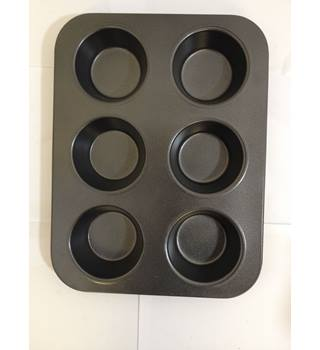 Yorkshire Puddin/ Large Muffin Baking Tin Unbranded