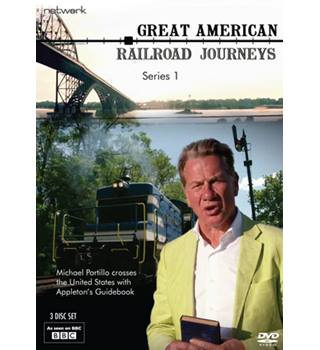 GREAT AMERICAN RAILROAD JOURNEYS THE COMPLETE SERIES 1 Non-classified