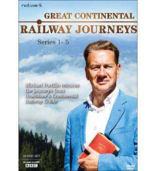 GREAT CONTINENTAL RAILWAY JOURNEYS SERIES 1-5 Non-classified