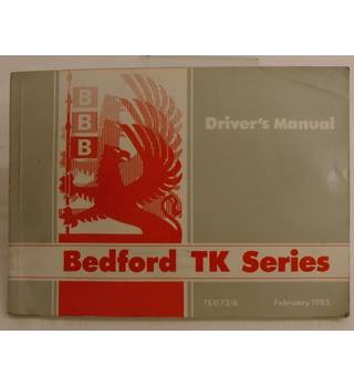 Bedford TK Series: Driver's Manual TS1173/6