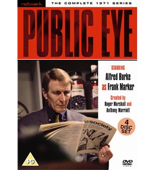 PUBLIC EYE THE COMPLETE 1971 SERIES As New PG