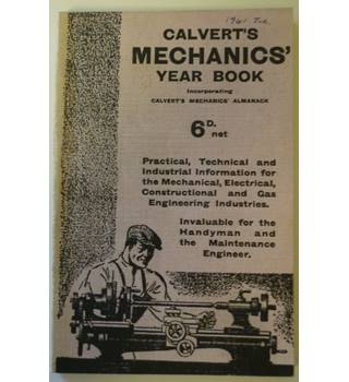 Calvert's Mechanics' Year Book for 1940