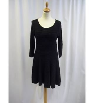 Topshop Tall - Size: 14 - Black - Dress