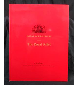 4 programmes from the royal opera house, Covent Garden as new 2001-2009.