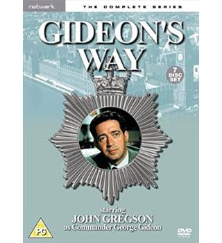 GIDEON'S WAY THE COMPLETE SERIES As New 12