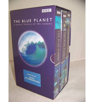 THE BLUE PLANET 3 VHS box set E