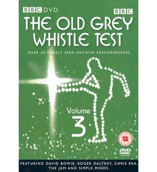 THE OLD GREY WHISTLE TEST 3 As New 12