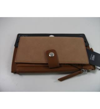 Marks & Spencer Collection Brown/Tan Purse / Wallet