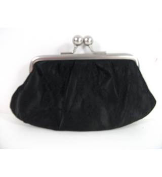 Martine Wester Black Lace Purse / Clutch Bag