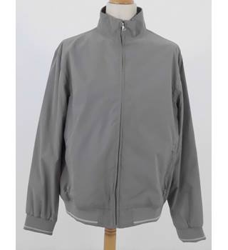 NWOT M&S Marks & Spencer Collection Size: XL Nutmeg Grey Casual Jacket