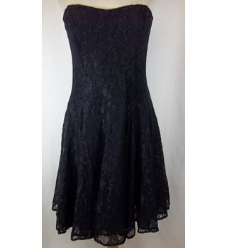 French Connection - Size: 16 - Black - Strapless dress