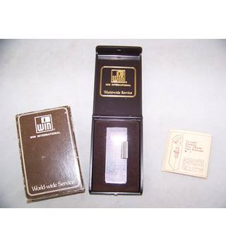 WIN metal cigarette lighter in case