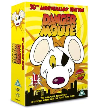 DANGER MOUSE THE DANGER MOUSE COLLECTION U