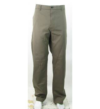 "BNWOT - M&S Marks & Spencer - Size: 48""/31"" - Natural Brown - Cotton Chinos"